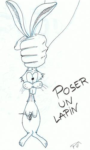 Poser-un-lapin