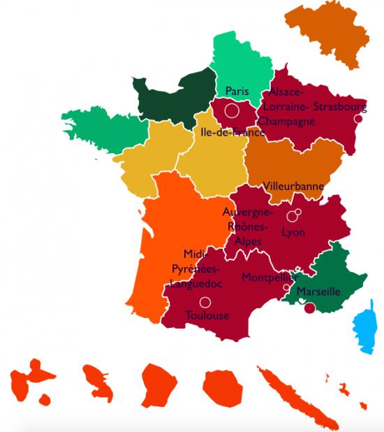 Carte du classement national 203 relative au parti pour Gagner (PPG)